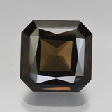 thumb image of 8.7ct Octagon / Scissor Cut Brown Smoky Quartz (ID: 408077)
