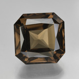 thumb image of 8.9ct Octagon / Scissor Cut Brown Smoky Quartz (ID: 408078)