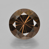 thumb image of 5.9ct Diamond-Cut Brown Smoky Quartz (ID: 408094)