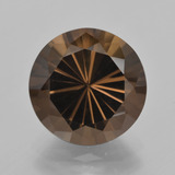 thumb image of 7ct Diamond-Cut Brown Smoky Quartz (ID: 408101)