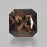 thumb image of 7.5ct Octagon / Scissor Cut Brown Smoky Quartz (ID: 408115)