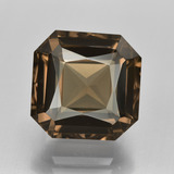 thumb image of 7.9ct 八角/交叉切割 Warm Brown 烟晶 (ID: 408116)
