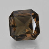 thumb image of 10.2ct Octagon / Scissor Cut Brown Smoky Quartz (ID: 408175)