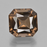 thumb image of 7.5ct Octagon / Scissor Cut Brown Smoky Quartz (ID: 408213)