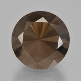 thumb image of 9.3ct Diamond-Cut Brown Smoky Quartz (ID: 408227)