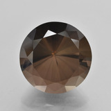thumb image of 14.1ct Diamond-Cut Brown Smoky Quartz (ID: 408307)