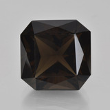 thumb image of 9.4ct Octagon / Scissor Cut Brown Smoky Quartz (ID: 408321)