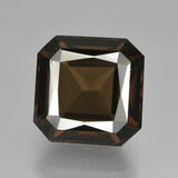 thumb image of 5.4ct Octagon / Scissor Cut Brown Smoky Quartz (ID: 408339)