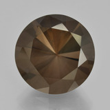 thumb image of 9.8ct Diamond-Cut Brown Smoky Quartz (ID: 408343)