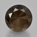 thumb image of 10.2ct Diamond-Cut Brown Smoky Quartz (ID: 408344)