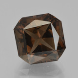 thumb image of 5.5ct Octagon / Scissor Cut Brown Smoky Quartz (ID: 413502)