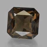 thumb image of 11.5ct Octagon / Scissor Cut Brown Smoky Quartz (ID: 413550)