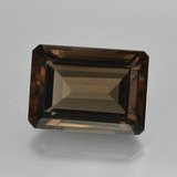 thumb image of 16.5ct Octagon Facet Brown Smoky Quartz (ID: 416627)