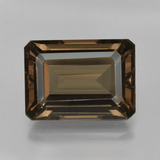 thumb image of 15.6ct Octagon Facet Brown Smoky Quartz (ID: 416629)