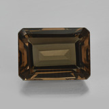 thumb image of 17.2ct Octagon Facet Brown Smoky Quartz (ID: 416630)
