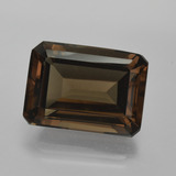 thumb image of 15.8ct Octagon Facet Brown Smoky Quartz (ID: 416634)