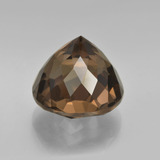 7.66 ct Round Petal Cut Brown Smoky Quartz Gem 11.95 mm  (Photo C)