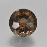 thumb image of 8.8ct Round Petal Cut Brown Smoky Quartz (ID: 417764)