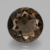 thumb image of 9.5ct Round Facet Brown Smoky Quartz (ID: 426891)