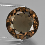 thumb image of 9.8ct Round Facet Brown Smoky Quartz (ID: 426894)