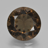 thumb image of 10.1ct Round Facet Brown Smoky Quartz (ID: 426897)