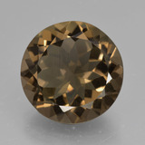 thumb image of 9.9ct Round Facet Brown Smoky Quartz (ID: 426899)