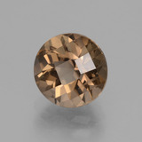 thumb image of 1.9ct Round Checkerboard Brown Smoky Quartz (ID: 428126)