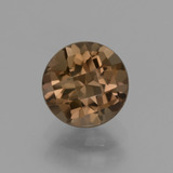 thumb image of 1.8ct Round Checkerboard Brown Smoky Quartz (ID: 428245)