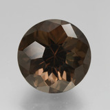 thumb image of 9.5ct Round Petal Cut Brown Smoky Quartz (ID: 432350)