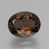 thumb image of 2.2ct Oval Facet Brown Smoky Quartz (ID: 434360)