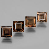 thumb image of 4.2ct Square Facet Brown Smoky Quartz (ID: 434667)