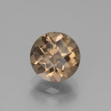 thumb image of 1.8ct Round Checkerboard Brown Smoky Quartz (ID: 440060)