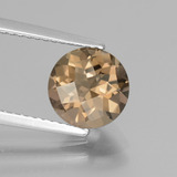 thumb image of 1.8ct Round Checkerboard Brown Smoky Quartz (ID: 440194)