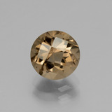 thumb image of 1.9ct Round Checkerboard Brown Smoky Quartz (ID: 440196)
