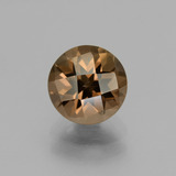 thumb image of 1.9ct Round Checkerboard Brown Smoky Quartz (ID: 440197)