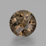 thumb image of 1.8ct Round Checkerboard Brown Smoky Quartz (ID: 440296)