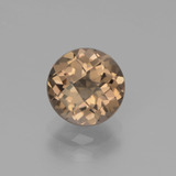 thumb image of 1.7ct Round Checkerboard Brown Smoky Quartz (ID: 440363)