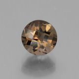 thumb image of 2.2ct Round Checkerboard Brown Smoky Quartz (ID: 443121)