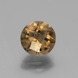 thumb image of 1.9ct Round Checkerboard Brown Smoky Quartz (ID: 443124)
