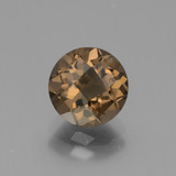 thumb image of 1.9ct Round Checkerboard Brown Smoky Quartz (ID: 443127)