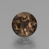 thumb image of 1.8ct Round Checkerboard Brown Smoky Quartz (ID: 448447)