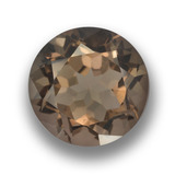 thumb image of 5.9ct Round Facet Brown Smoky Quartz (ID: 459457)