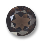 thumb image of 10.7ct Round Facet Brown Smoky Quartz (ID: 459543)
