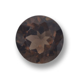 thumb image of 4ct Round Facet Brown Smoky Quartz (ID: 459549)