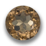 thumb image of 10.3ct Round Facet Brown Smoky Quartz (ID: 459714)