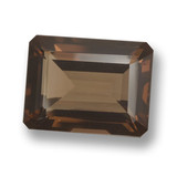 thumb image of 20.4ct Octagon Step Cut Brown Smoky Quartz (ID: 461531)