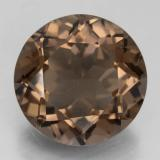 thumb image of 12.4ct Round Facet Brown Smoky Quartz (ID: 463856)