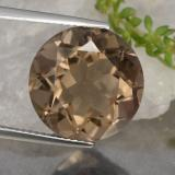 thumb image of 10.5ct Round Facet Brown Smoky Quartz (ID: 463869)