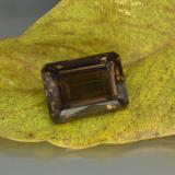 thumb image of 25.7ct Octagon Step Cut Brown Smoky Quartz (ID: 466912)