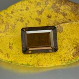 thumb image of 24ct Octagon Step Cut Brown Smoky Quartz (ID: 466914)